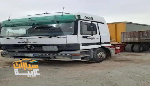 شاحنة مرسيدس  اكترس 2002